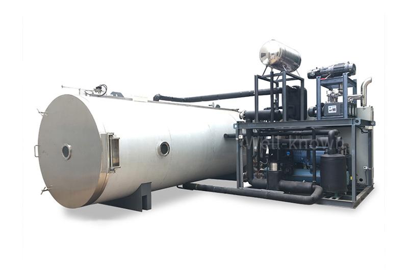 100m2 1000kg Large Vegetables Fruit Food Vacuum Freeze Dryer