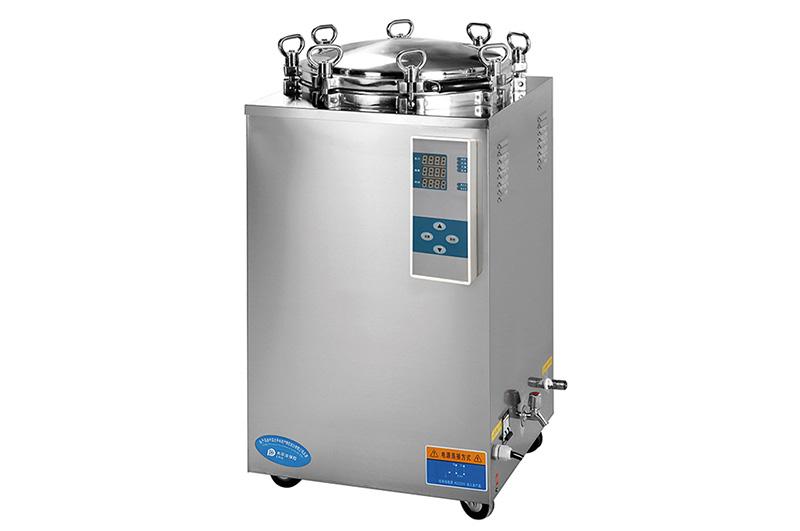 75L 2.65Cu.Ft. Vertical High Pressure Steam Automatic Sterilizer